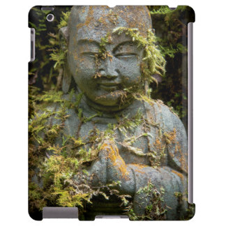 Bearded Buddha Statue Garden Nature Photography Apple Ipad234 Case