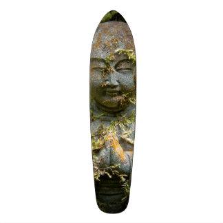 Bearded Buddha Statue Garden Nature Photography Custom Skateboard