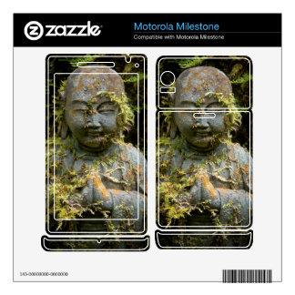 Bearded Buddha Statue Garden Nature Photography Motorola Milestone Skin