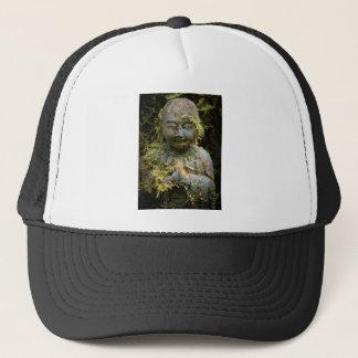 Bearded Buddha Statue Garden Nature Photography Trucker Hat