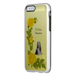 Incipio Feather® Shine iPhone 6 Case with Collie Phone Cases design