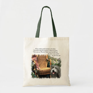 Bearded Collie Art Gifts Tote Bag