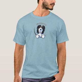 Bearded Collie Beardie IAAM Logo T-Shirt