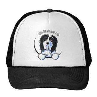 Bearded Collie Beardie IAAM Trucker Hat
