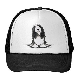 Bearded Collie Beardie Sit Pretty Trucker Hat