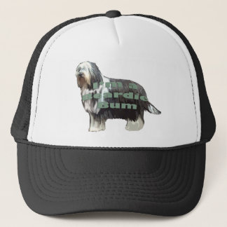 "Bearded Collie ""Bum"" Trucker Hat"