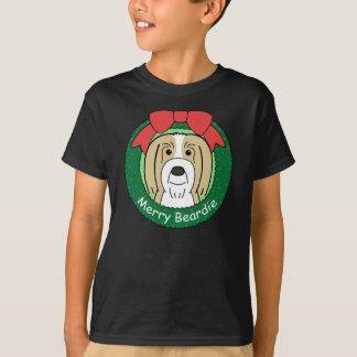Bearded Collie Christmas T-Shirt