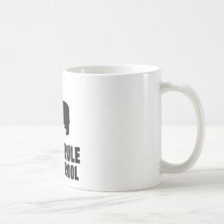 Bearded Collie Classic White Coffee Mug