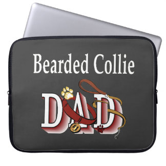 Bearded Collie Dad Gifts Laptop Sleeve