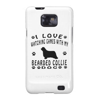 Bearded Collie designs Samsung Galaxy S2 Cover