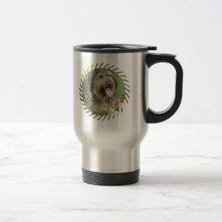 Bearded Collie Dog Stainless Travel Mug