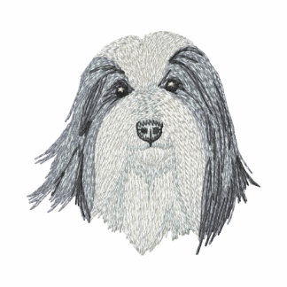 Bearded Collie Embroidered Hoodie