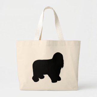 Bearded Collie Gear Large Tote Bag