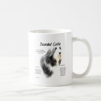 Bearded Collie History Design Coffee Mug