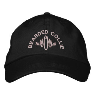 Bearded Collie Mom Gifts Embroidered Baseball Hat
