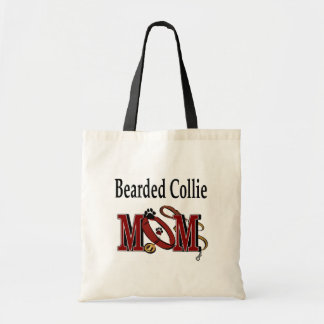 Bearded Collie Mom Gifts Tote Bag