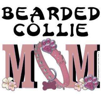Bearded Collie MOM Statuette