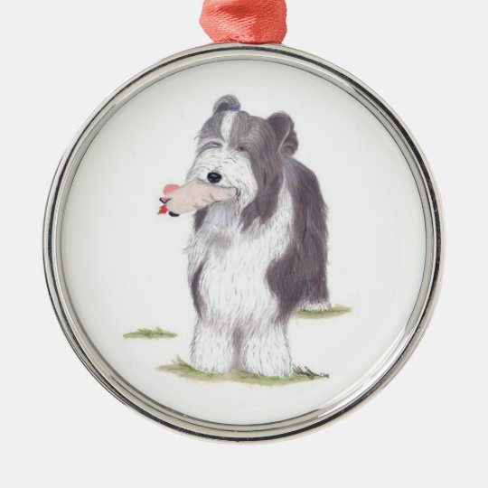 Bearded Collie - Ornament