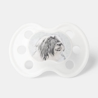 Bearded Collie Pacifier