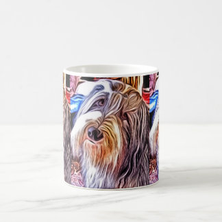 Bearded Collie Painting Mug