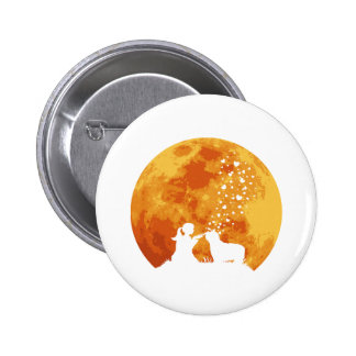 Bearded Collie Pinback Button