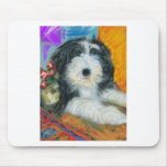 Bearded Collie Puppy Mousepad