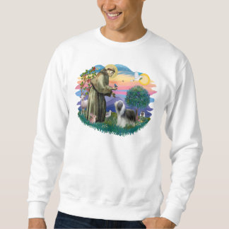 Bearded Collie (slate-white) Sweatshirt