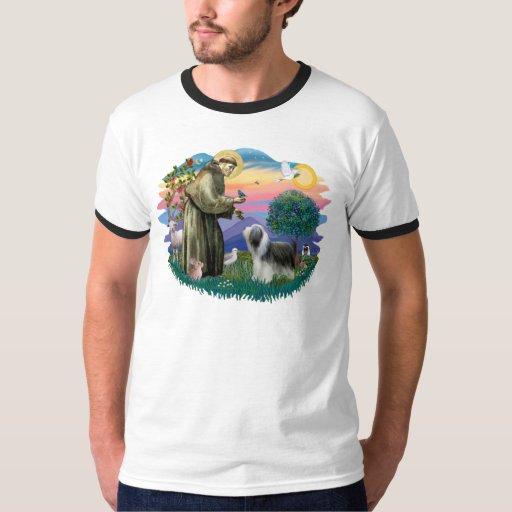 Bearded Collie (slate-white) T Shirt