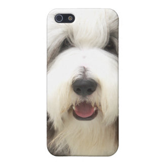 bearded collie Snoopy iPhone SE/5/5s Cover