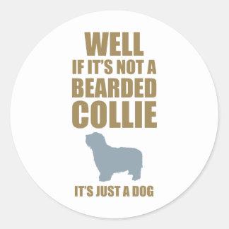 Bearded Collie Sticker