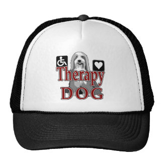 Bearded Collie Therapy Dog Trucker Hat