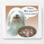 Bearded Collie Turkey Mouse Mat