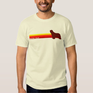 Bearded Collie With Stripes T-Shirt