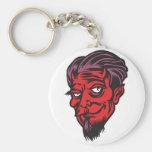 bearded devil key chain
