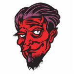 bearded devil photo sculptures