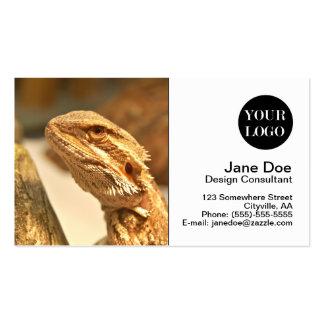 Bearded Dragon Business Card Template