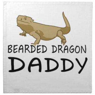 Bearded Dragon Daddy Napkin