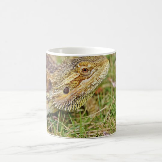 Bearded Dragon Head Coffee Mug
