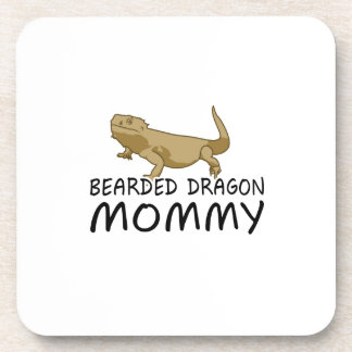Bearded Dragon Mommy Drink Coaster