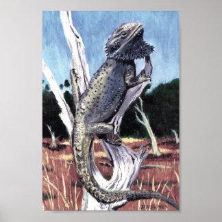 Bearded Dragon Print