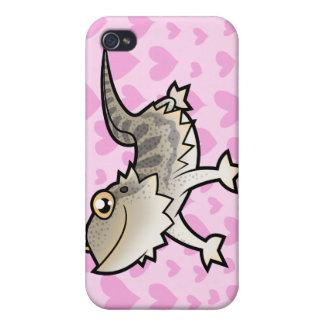 Bearded Dragon / Rankin Dragon Love Case For iPhone 4
