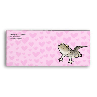 Bearded Dragon / Rankin Dragon Love Envelope