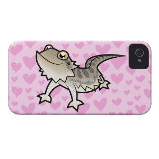 Bearded Dragon / Rankin Dragon Love iPhone 4 Case