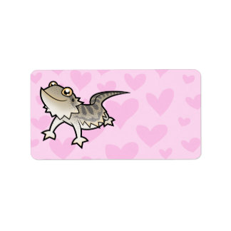 Bearded Dragon / Rankin Dragon Love Label