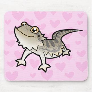 Bearded Dragon Rankin Dragon Love Mousepads
