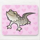 Bearded Dragon / Rankin Dragon Love Mousepads