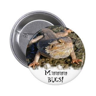 Bearded Dragon Series Pinback Button