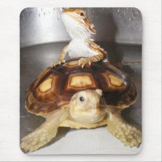 Bearded Dragon & Sulcata Tortoise Mouse Pad