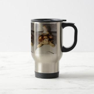Bearded Dragon & Sulcata Tortoise 15 Oz Stainless Steel Travel Mug