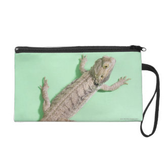 Bearded dragon wristlet purse
